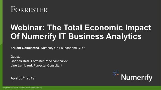 Forrester: The Business Case for IT Analytics