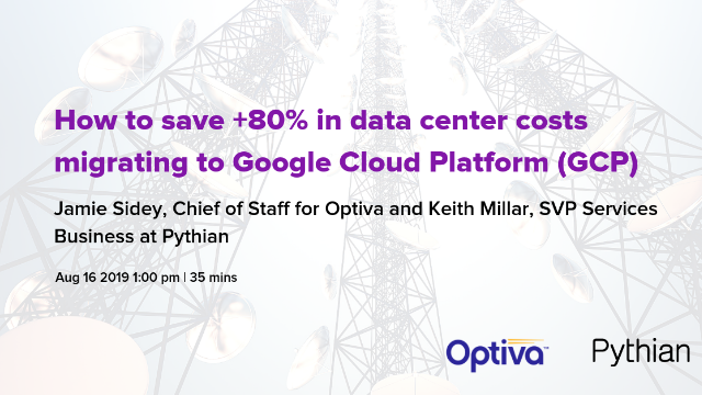 How to save +80% in data center costs migrating to Google Cloud Platform (GCP)