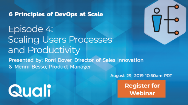 Scaling DevOps Episode 4:  Scaling Users Processes and Productivity