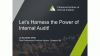 Harnessing the power of internal audit