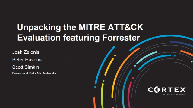 Unpacking the MITRE ATT&CK Evaluation featuring Forrester
