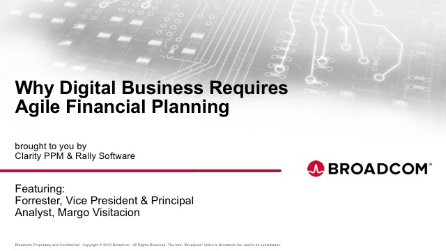 Why Digital Businesses Require Agile Financial Planning