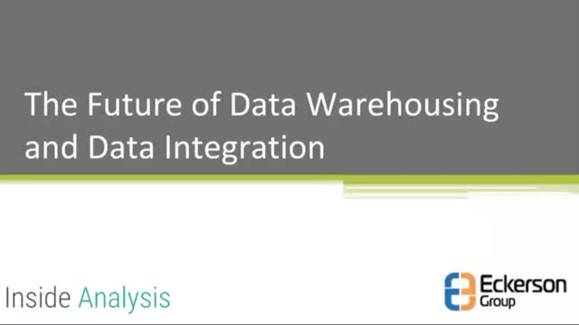 The Future of Data Warehouse and Data Integration
