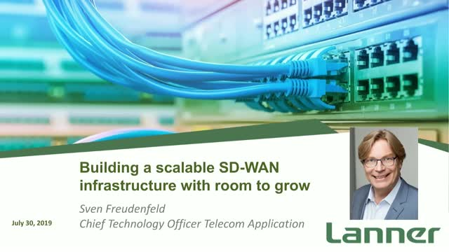 Building a scalable SD-WAN infrastructure with room to grow