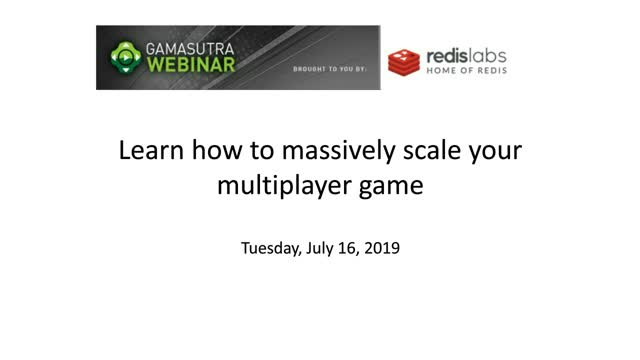 Learn how to massively scale your multiplayer game