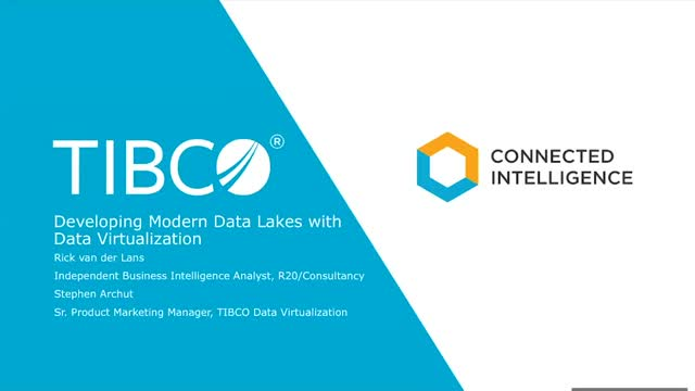 Developing Modern Data Lakes with Data Virtualization