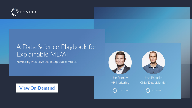 A Data Science Playbook for Explainable ML/AI
