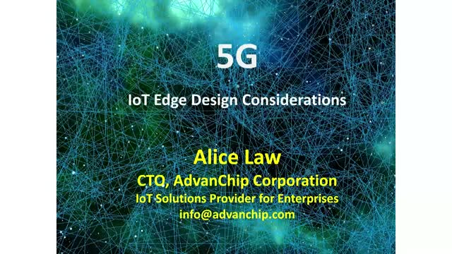 5G IoT Edge Design Considerations