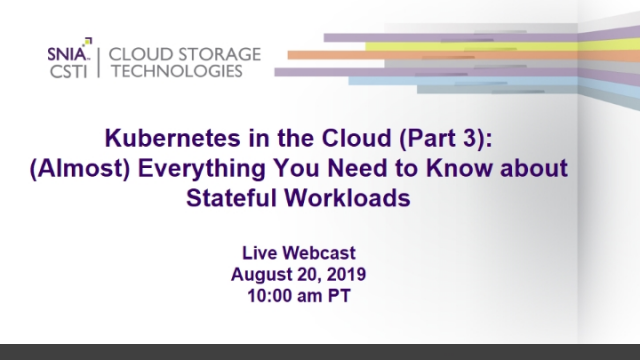 Kubernetes in the Cloud (Part 3): Stateful Workloads