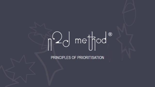 Principles of Prioritisation