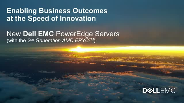 All Roads Lead to Rome - Dell EMC PowerEdge Servers + AMD EPYC 2nd gen procs