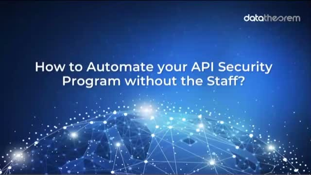 How to Automate an API Security Program