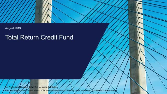 Total Return Credit - Quarterly update with Mark Munro