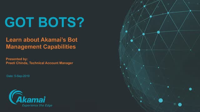 Got bots? – Bot Management 101