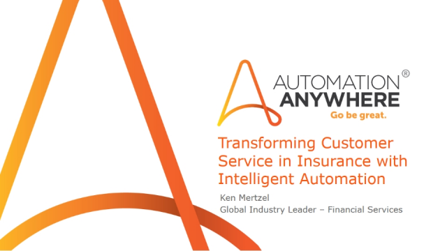 Transforming Customer Service in Insurance with Intelligent Automation