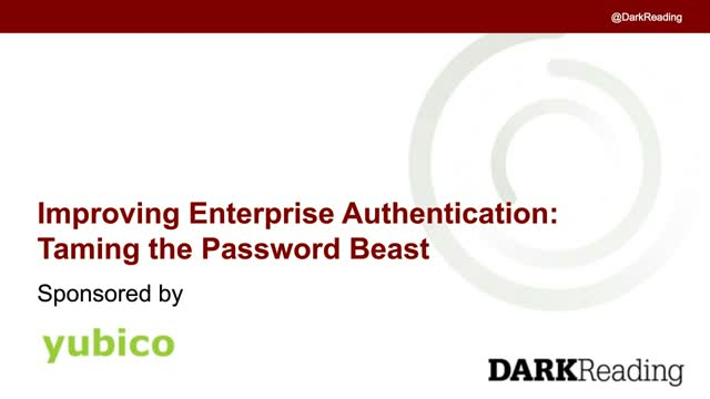 Improving Enterprise Authentication: Taming the Password Beast