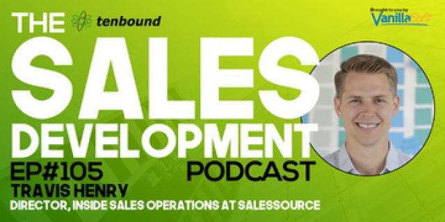 Travis Henry - The Most Common Issues in Sales Development Today.