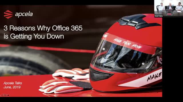 Apcela Talks | 3 Reasons why Office 365 is Getting You Down