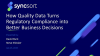 Data Quality in Banking:Turning Regulatory Compliance into Business Value
