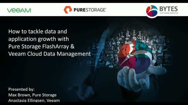 How to Tackle Data and Application Growth with Pure Storage & Veeam