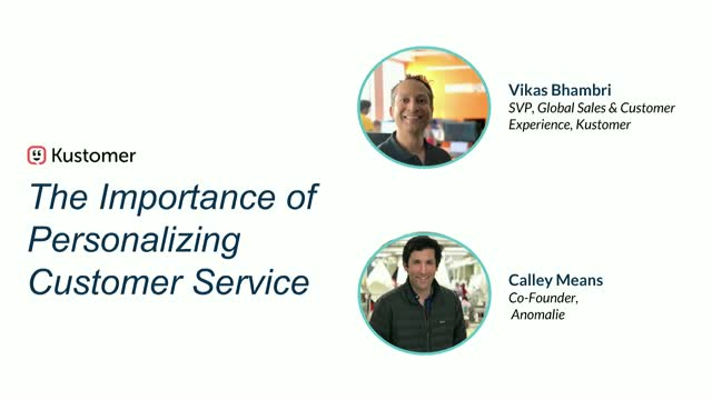 The Importance of Personalizing Your Customer Service