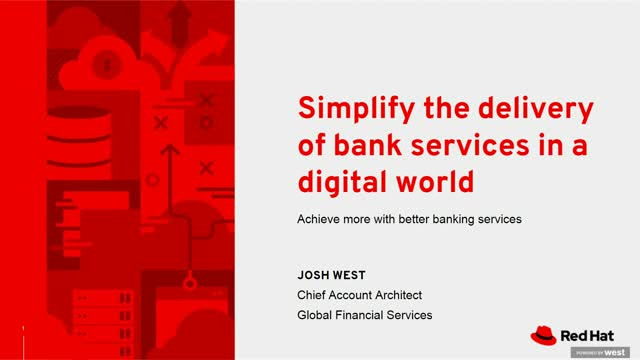 Achieve more with better banking services