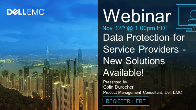 Data Protection for Service Providers - New Solutions Available!