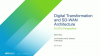Digital Transformation and SD-WAN Architecture: a CIO Perspective