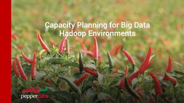 Capacity Planning for Big Data Hadoop Environments