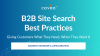 B2B Site Search Best Practices: Give Customers What They Need, When They Want It