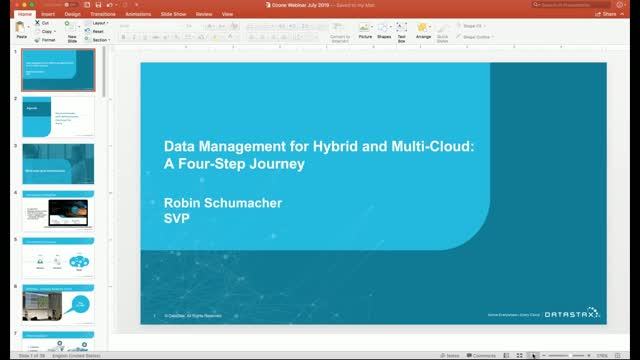 Webinar  |  Data Management for Hybrid and Multi-Cloud: A Four-Step Journey
