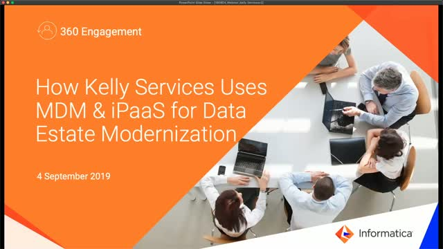 How Kelly Services Uses MDM & iPaaS for Data Estate Modernization