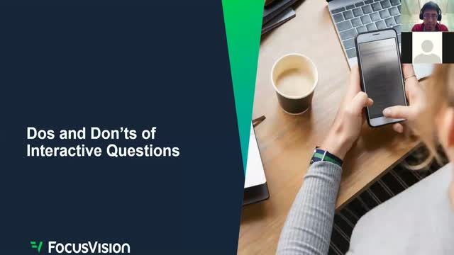 Online Survey Masterclass: Dos and Don'ts of Interactive Questions
