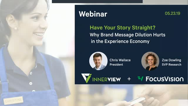 Why Brand Message Dilution Hurts In The Experience Economy