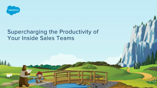 Supercharge the Productivity of your Inside Sales Teams