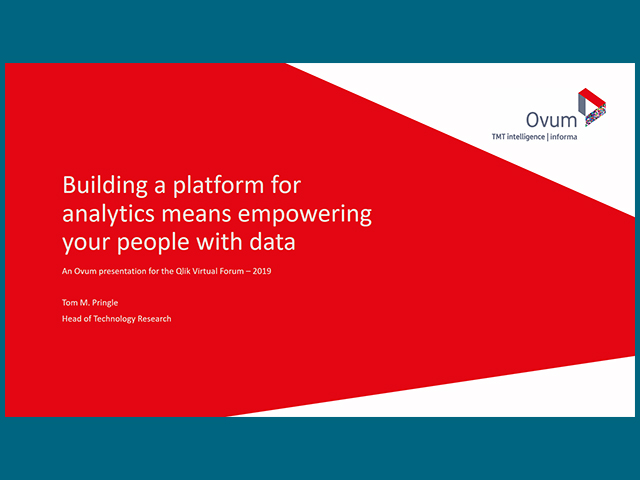 Building a Platform for Analytics Means Empowering Your People with Data