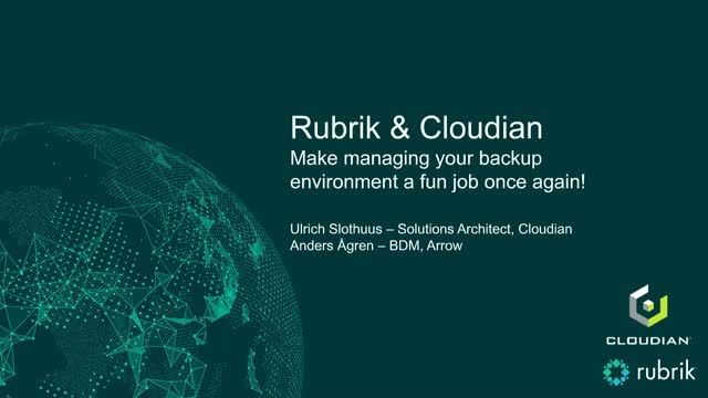 Make managing your back-up environment a fun job once again!