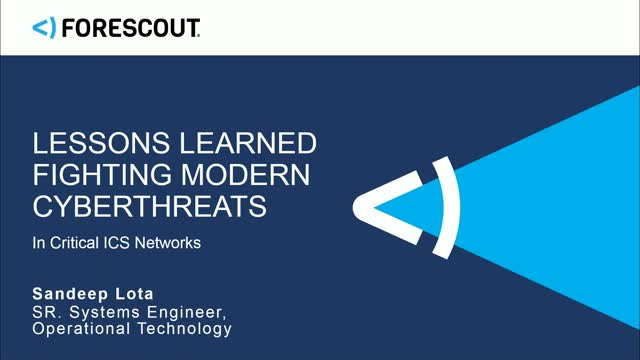 Lessons Learned Fighting Modern Cyberthreats in ICS Networks