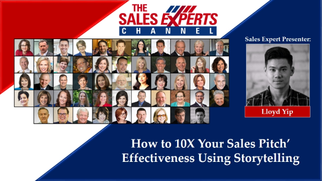 How to 10X Your Sales Pitch' Effectiveness Using Storytelling