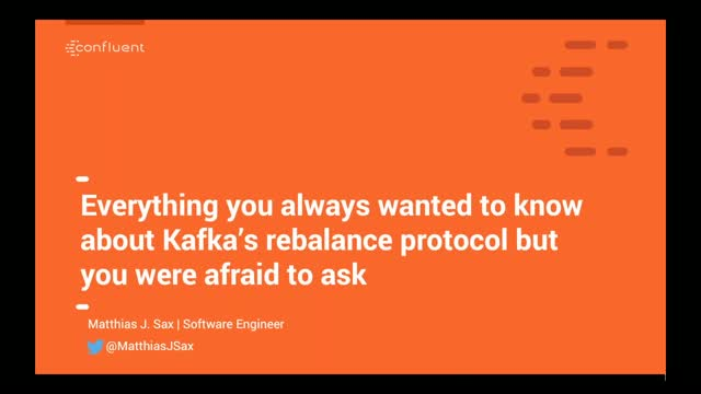 Everything You Always Wanted to Know About Kafka's Rebalance Protocol