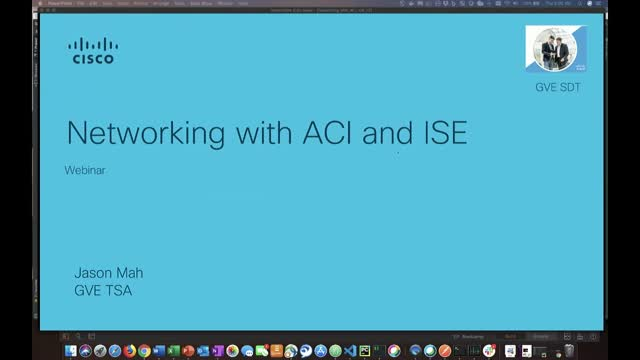 Networking with ACI and ISE