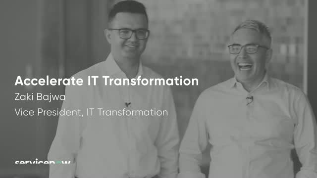 Accelerate Digital Transformation with Experience Oriented IT Workflows