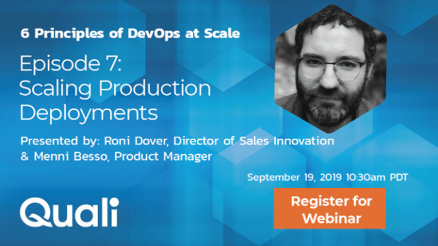 Scaling DevOps episode 7: Scaling Production Deployments