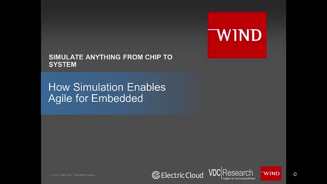 How Simulation Enables Agile for Embedded