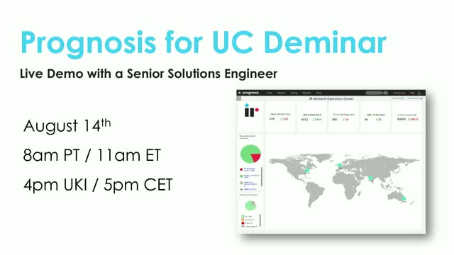 Prognosis for UC Live Demo [August 2019]