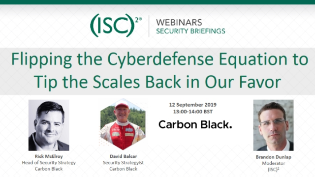 Flipping the Cyberdefense Equation to Tip the Scales Back in Our Favor