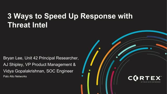 3 Ways to Speed Up Response with Threat Intel