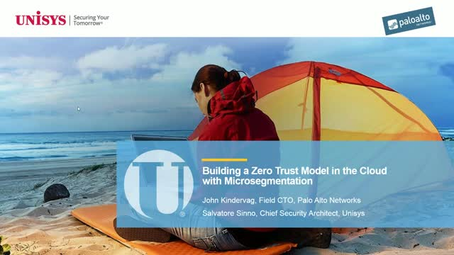Building a Zero Trust Model in the Cloud with Microsegmentation