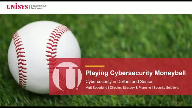 Playing Moneyball in Cybersecurity