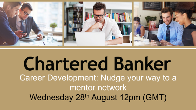 Career Development – Nudge your way to a mentor network